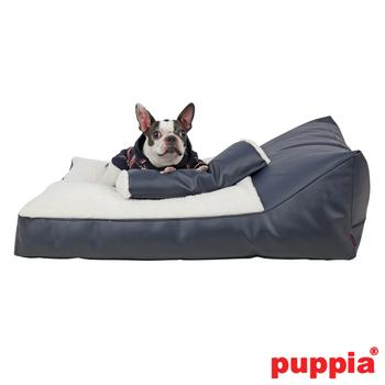 Chaise Dog Bed by Puppia - Navy