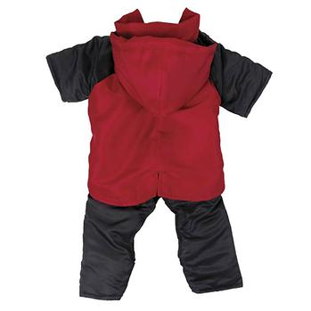 2 in 1 Dog Snowsuit - Red