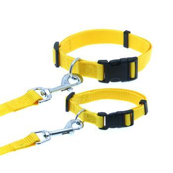 Barking Basics Dog Collar - Yellow
