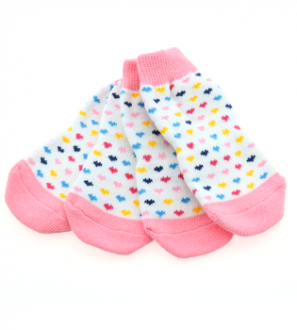 Cute and comfy socks for your dog.