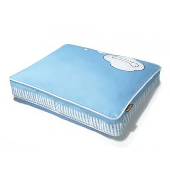 P.L.A.Y. What Dogs Dream Rectangular Dog Bed - Blue