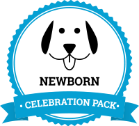 Take dog breeding to the next level by offering our newborn celebration pack to puppy buyers.