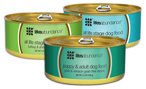 canned puppy food