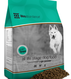 Find high quality grain free dog food for all life stages here.