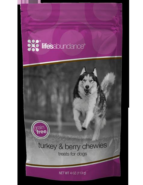 Grain Free Turkey & Berry Chewies - High Quality Dog Treat