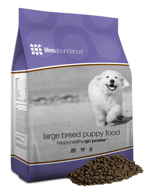 Find high quality large breed puppy food online here today!
