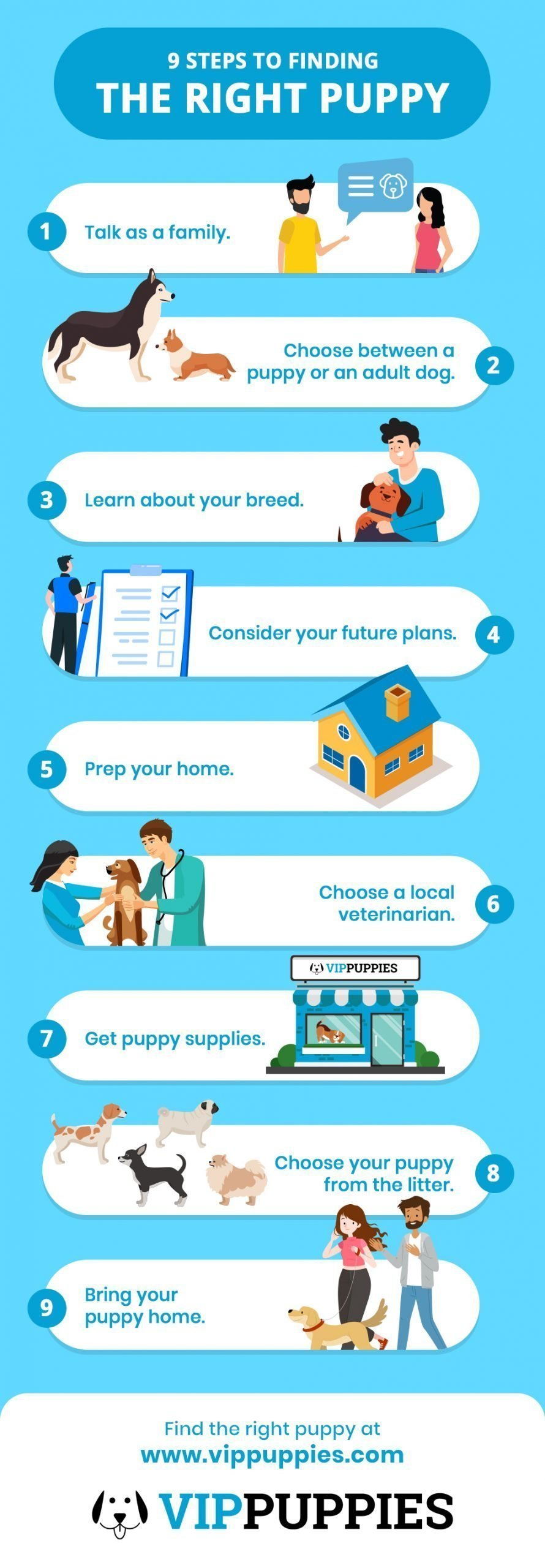 9 Steps to Finding the Right Puppy